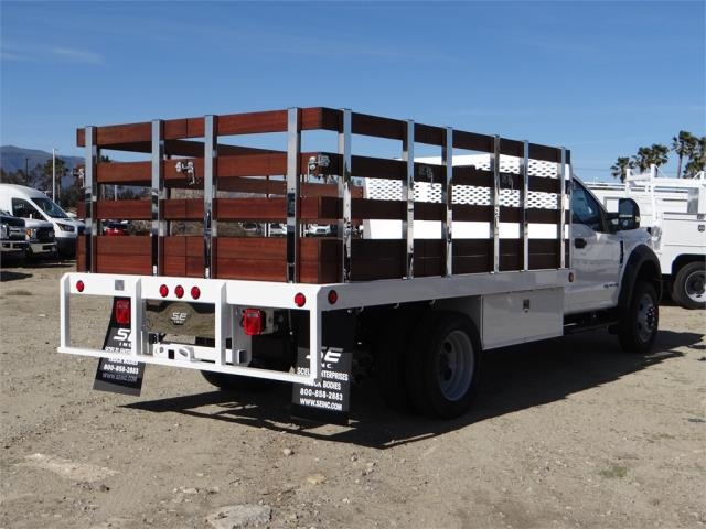 2018 F-550 Regular Cab DRW 4x2,  Scelzi Stake Bed #FJ2070 - photo 4