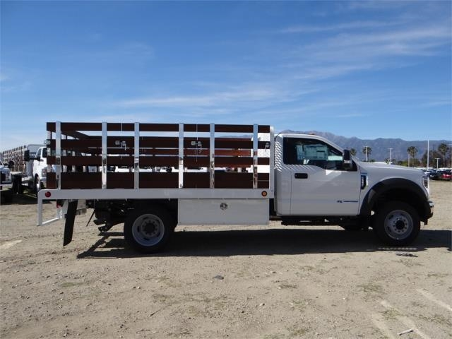 2018 F-550 Regular Cab DRW 4x2,  Scelzi Stake Bed #FJ2070 - photo 5