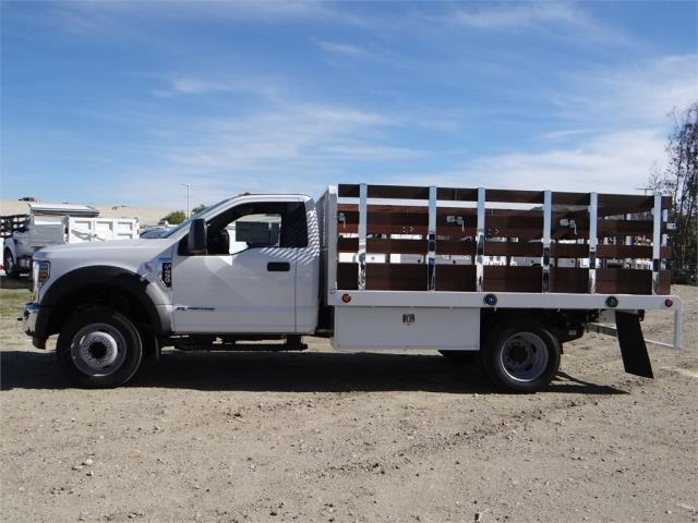 2018 F-450 Regular Cab DRW 4x2,  Scelzi Stake Bed #FJ2130 - photo 3