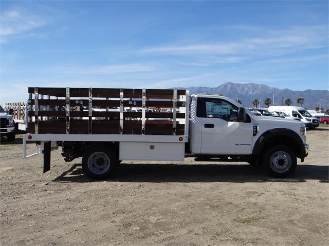2018 F-450 Regular Cab DRW 4x2,  Scelzi Stake Bed #FJ2130 - photo 5
