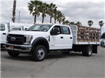 2018 F-450 Crew Cab DRW, Scelzi Flatbed #FJ2131 - photo 1