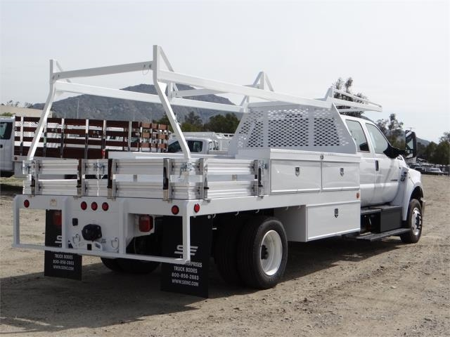 2018 F-650 Crew Cab DRW 4x2,  Scelzi Contractor Body #FJ2241 - photo 4