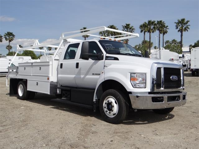 2018 F-650 Crew Cab DRW 4x2,  Scelzi Contractor Body #FJ2241 - photo 6