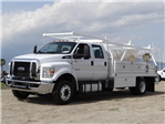 2018 F-650 Crew Cab DRW 4x2,  Scelzi Contractor Body #FJ2241 - photo 1