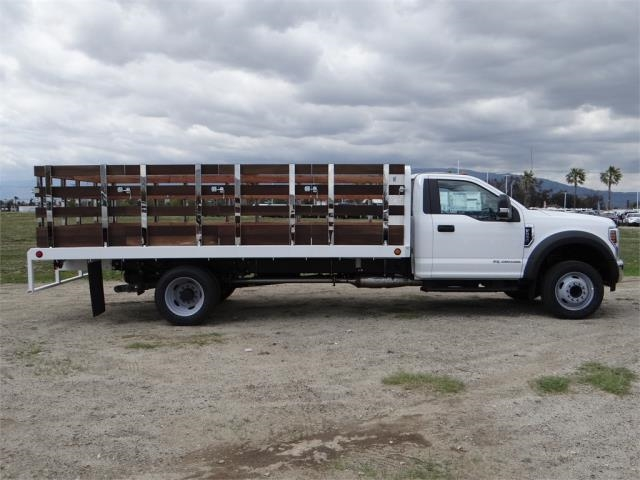 2018 F-550 Regular Cab DRW 4x2,  Scelzi Stake Bed #FJ2272 - photo 5