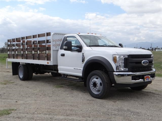 2018 F-550 Regular Cab DRW 4x2,  Scelzi Stake Bed #FJ2272 - photo 6