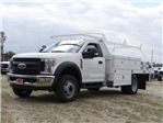 2018 F-550 Regular Cab DRW, Scelzi Contractor Body #FJ2285 - photo 1