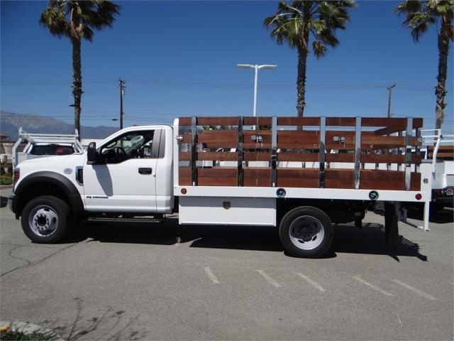 2018 F-450 Regular Cab DRW 4x2,  Scelzi Stake Bed #FJ2315 - photo 3