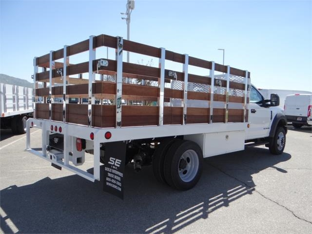 2018 F-450 Regular Cab DRW 4x2,  Scelzi Stake Bed #FJ2315 - photo 4