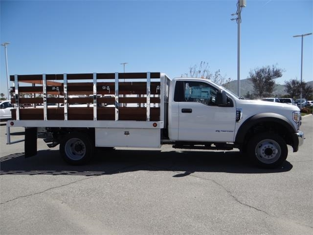 2018 F-450 Regular Cab DRW 4x2,  Scelzi Stake Bed #FJ2315 - photo 5