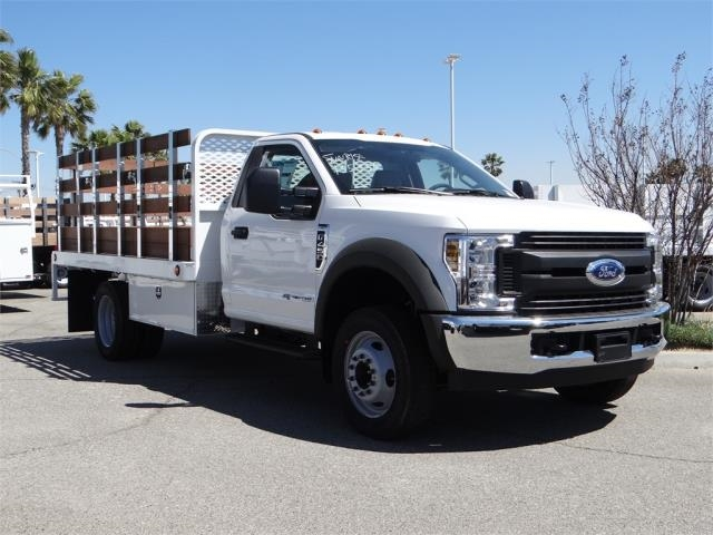 2018 F-450 Regular Cab DRW 4x2,  Scelzi Stake Bed #FJ2315 - photo 6