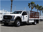 2018 F-450 Regular Cab DRW 4x2,  Scelzi Stake Bed #FJ2315 - photo 1