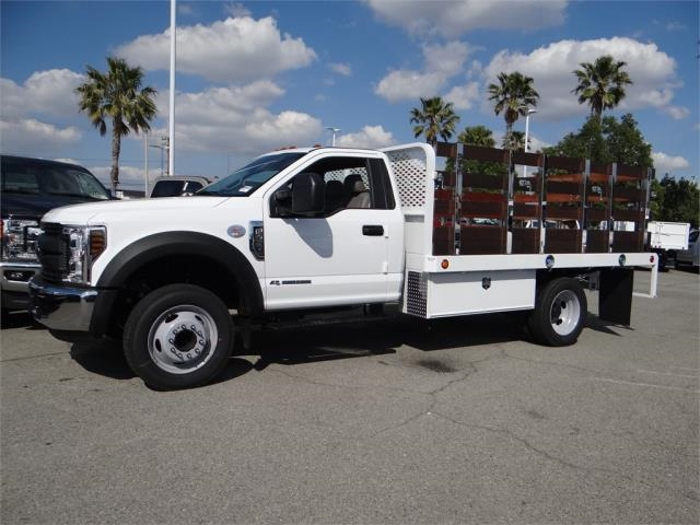 2018 F-450 Regular Cab DRW 4x2,  Scelzi Stake Bed #FJ2318 - photo 3