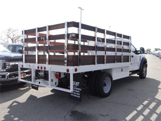 2018 F-450 Regular Cab DRW 4x2,  Scelzi Stake Bed #FJ2318 - photo 4