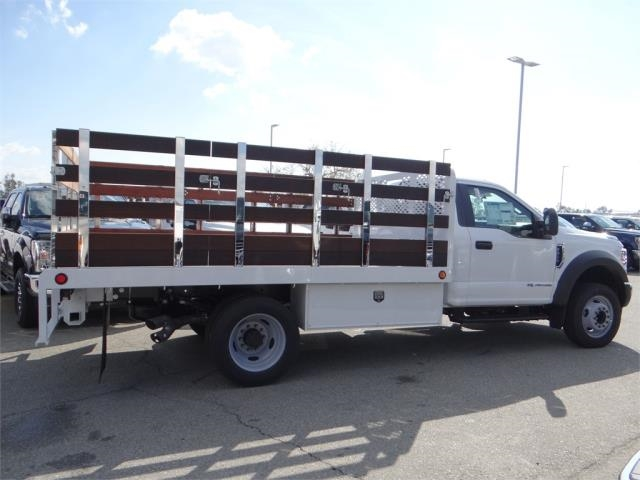 2018 F-450 Regular Cab DRW 4x2,  Scelzi Stake Bed #FJ2318 - photo 5