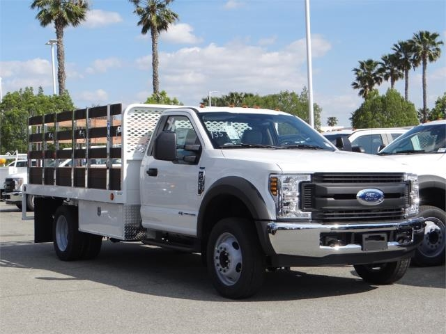 2018 F-450 Regular Cab DRW 4x2,  Scelzi Stake Bed #FJ2318 - photo 6