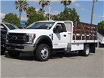 2018 F-450 Regular Cab DRW 4x2,  Scelzi Stake Bed #FJ2318 - photo 1