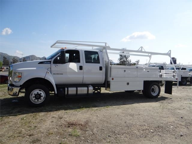 2018 F-650 Crew Cab DRW 4x2,  Scelzi Contractor Body #FJ2399 - photo 3