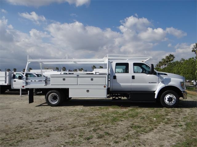 2018 F-650 Crew Cab DRW 4x2,  Scelzi Contractor Body #FJ2399 - photo 5