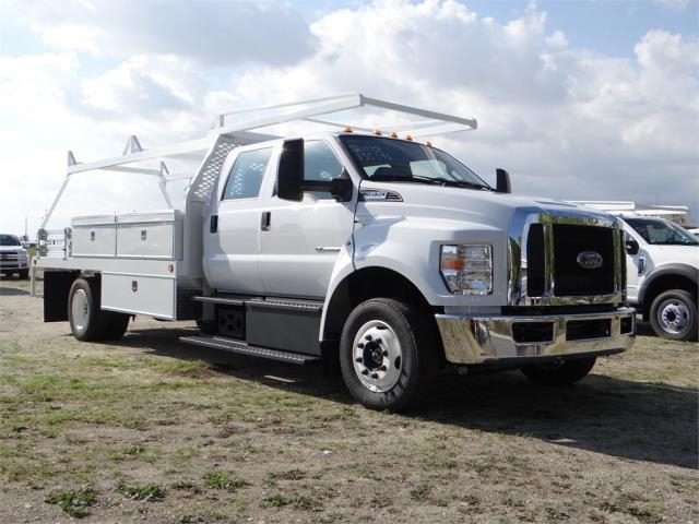 2018 F-650 Crew Cab DRW 4x2,  Scelzi Contractor Body #FJ2399 - photo 6