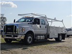 2018 F-650 Crew Cab DRW 4x2,  Scelzi Contractor Body #FJ2399 - photo 1