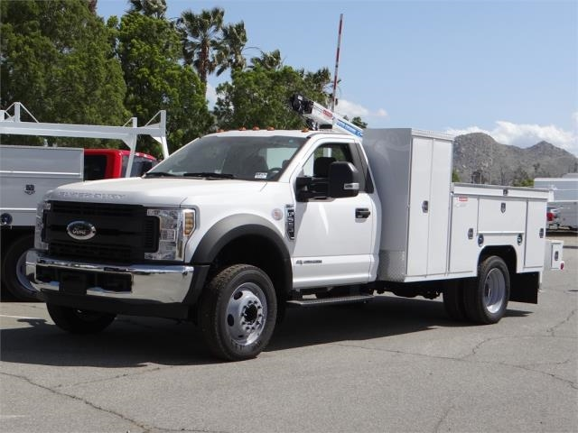 2018 F-550 Regular Cab DRW 4x2,  Scelzi Signature Service Mechanics Body #FJ2423 - photo 1