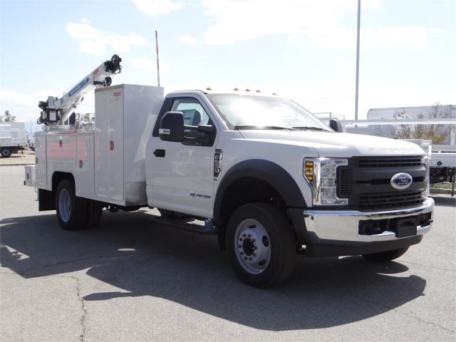 2018 F-550 Regular Cab DRW 4x2,  Scelzi Mechanics Body #FJ2423 - photo 6