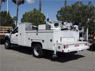 2018 F-550 Regular Cab DRW 4x2,  Scelzi Signature Service Mechanics Body #FJ2423 - photo 2