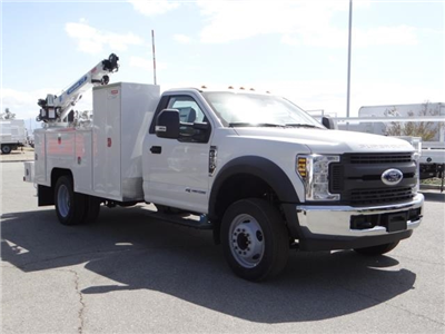 2018 F-550 Regular Cab DRW 4x2,  Scelzi Signature Service Mechanics Body #FJ2423 - photo 6