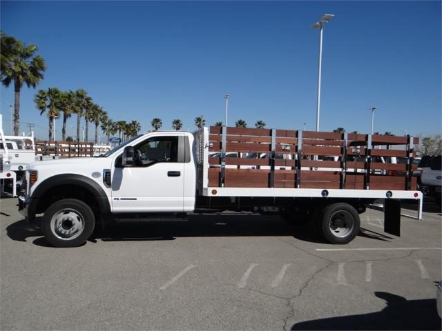 2018 F-550 Regular Cab DRW 4x2,  Scelzi Stake Bed #FJ2468 - photo 3