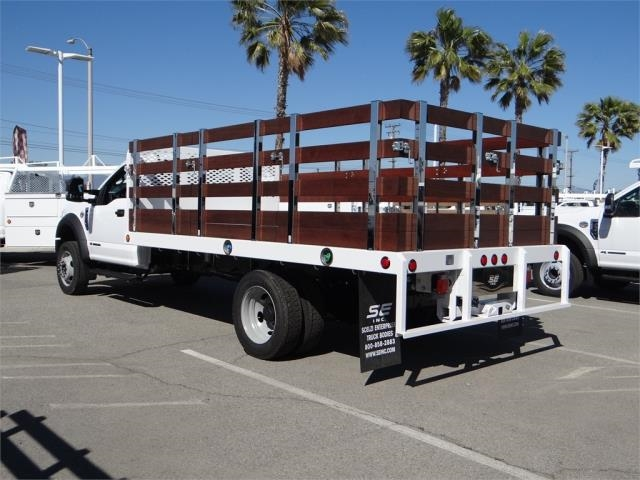 2018 F-550 Regular Cab DRW 4x2,  Scelzi Stake Bed #FJ2468 - photo 2
