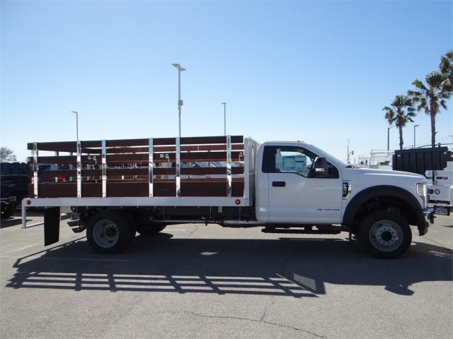 2018 F-550 Regular Cab DRW 4x2,  Scelzi Stake Bed #FJ2468 - photo 5