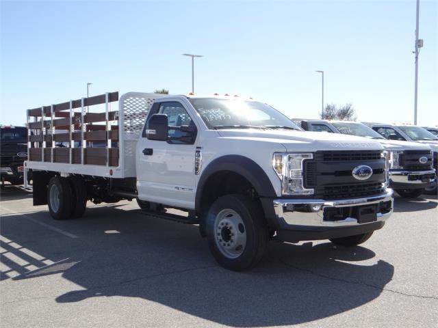 2018 F-550 Regular Cab DRW 4x2,  Scelzi Stake Bed #FJ2468 - photo 6