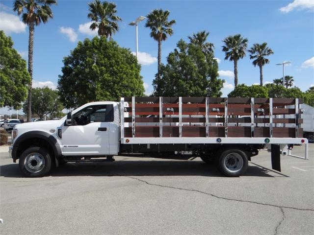2018 F-550 Regular Cab DRW 4x2,  Scelzi Stake Bed #FJ2479 - photo 3