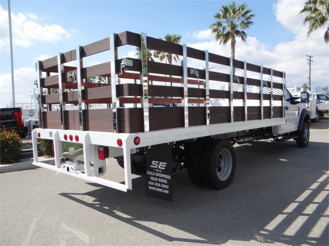 2018 F-550 Regular Cab DRW 4x2,  Scelzi Stake Bed #FJ2479 - photo 4