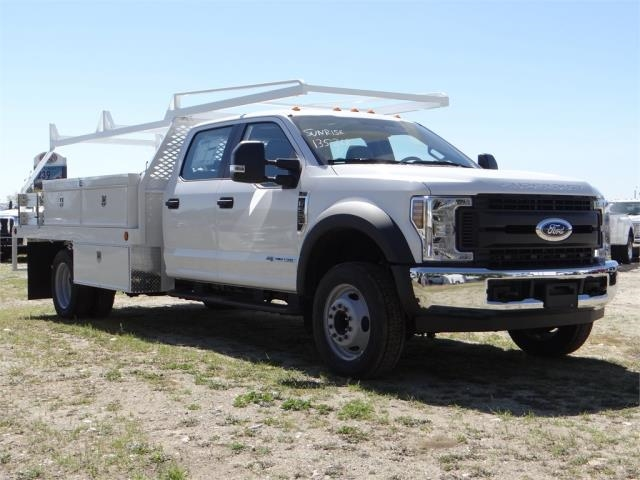 2018 F-550 Crew Cab DRW 4x2,  Scelzi Contractor Body #FJ2537 - photo 6