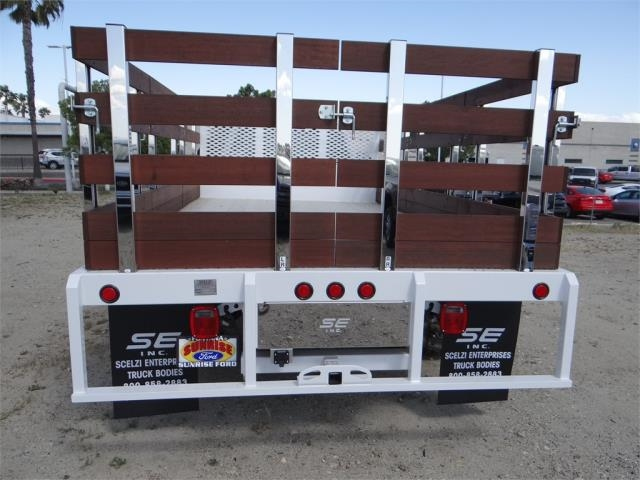 2018 F-550 Regular Cab DRW 4x2,  Scelzi Stake Bed #FJ2558 - photo 9