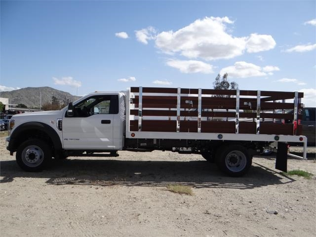 2018 F-550 Regular Cab DRW 4x2,  Scelzi Stake Bed #FJ2558 - photo 3