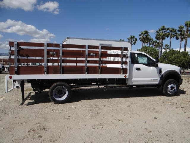 2018 F-550 Regular Cab DRW 4x2,  Scelzi Stake Bed #FJ2558 - photo 5