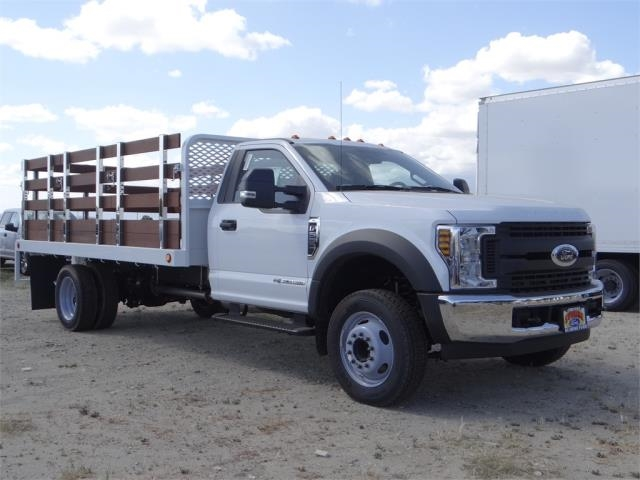 2018 F-550 Regular Cab DRW 4x2,  Scelzi Stake Bed #FJ2558 - photo 6