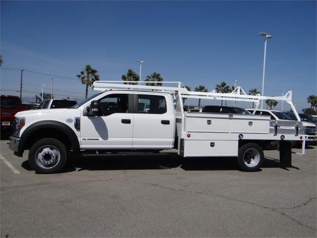 2018 F-550 Crew Cab DRW 4x2,  Scelzi Contractor Body #FJ2572 - photo 3