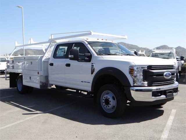 2018 F-550 Crew Cab DRW 4x2,  Scelzi Contractor Body #FJ2572 - photo 6
