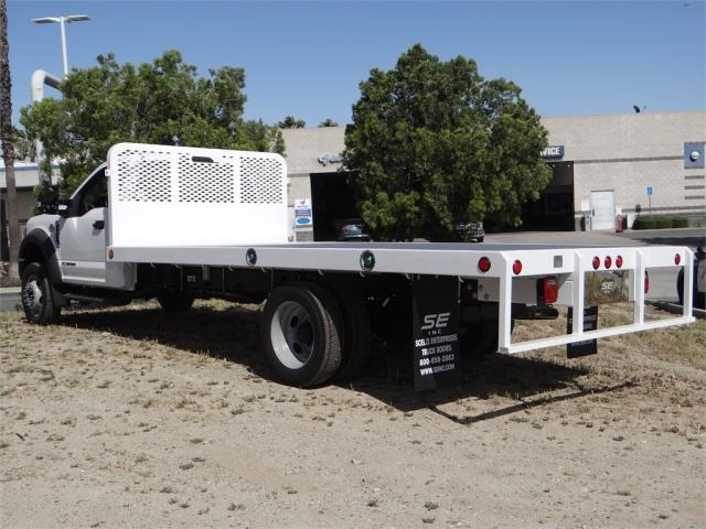 2018 F-550 Regular Cab DRW, Scelzi Flatbed #FJ2594 - photo 2