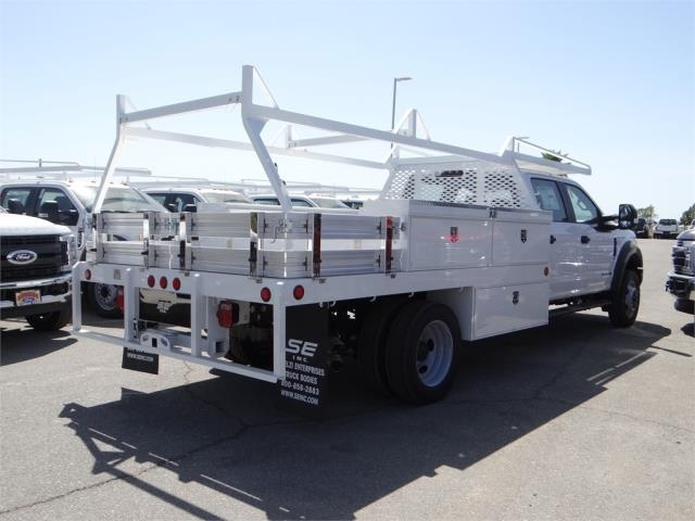 2018 F-550 Crew Cab DRW 4x2,  Scelzi Contractor Body #FJ2625 - photo 4