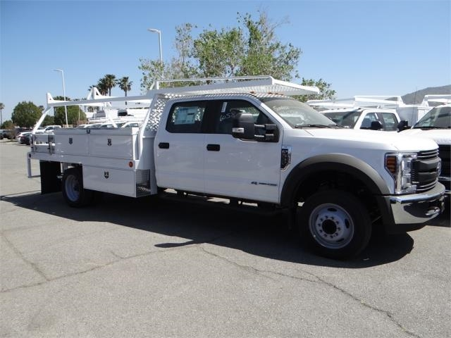 2018 F-550 Crew Cab DRW 4x2,  Scelzi Contractor Body #FJ2625 - photo 5