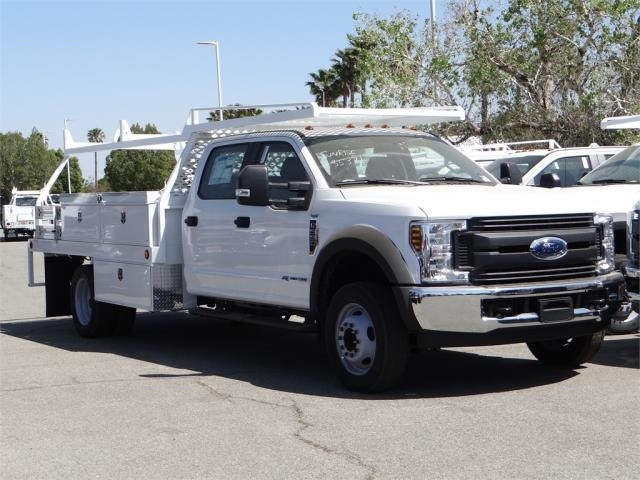 2018 F-550 Crew Cab DRW 4x2,  Scelzi Contractor Body #FJ2625 - photo 6