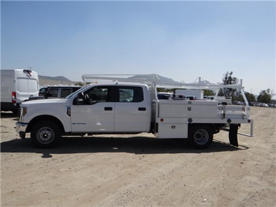 2018 F-350 Crew Cab DRW 4x2,  Scelzi CTFB Contractor Body #FJ2626 - photo 3