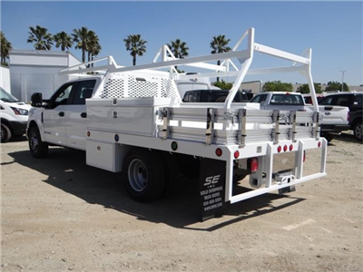 2018 F-350 Crew Cab DRW 4x2,  Scelzi CTFB Contractor Body #FJ2626 - photo 2