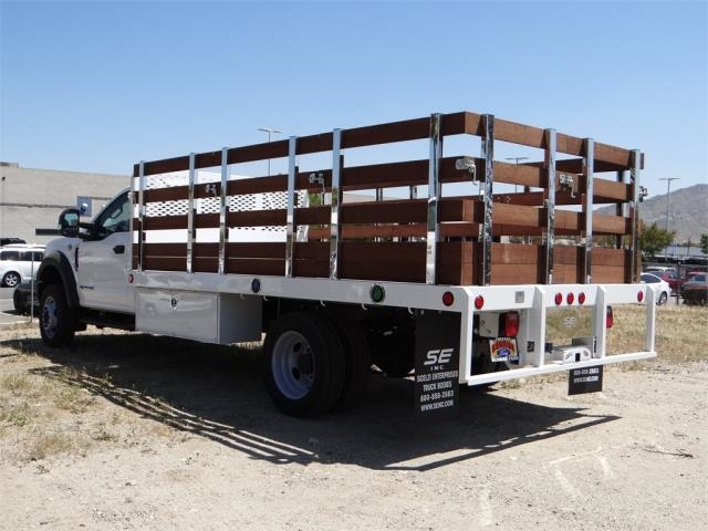 2018 F-550 Regular Cab DRW 4x2,  Scelzi Stake Bed #FJ2685 - photo 2
