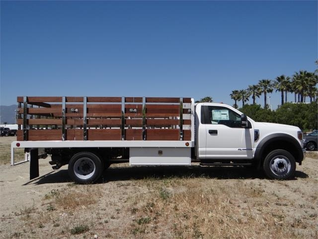 2018 F-550 Regular Cab DRW 4x2,  Scelzi Stake Bed #FJ2685 - photo 5